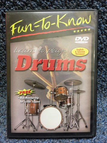 Fun to Know Learn to Play Drums DVD