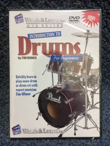 Watch&Learn Introduction to Drums Instructional DVD