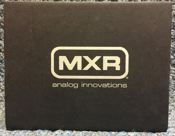 NEW MXR M87 Bass Compressor Effects Pedal