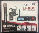 NEW Nady U-1100 Handheld Wireless Mic and Receiver