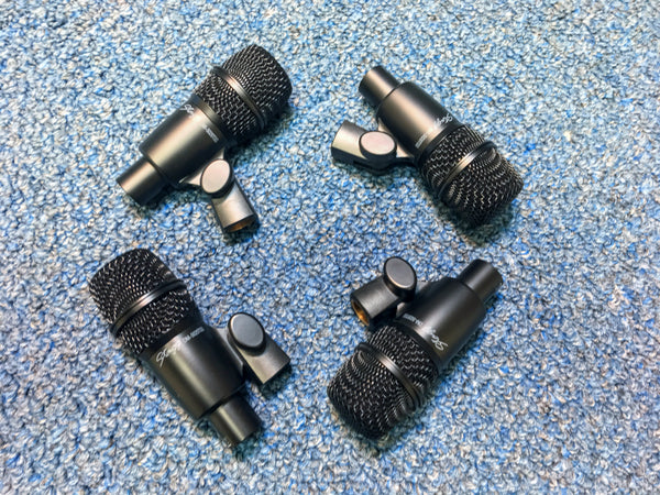NEW Stagg DMS5700H 7pc Unidirectional Dynamic Drum Mic Set w/Case and Clips