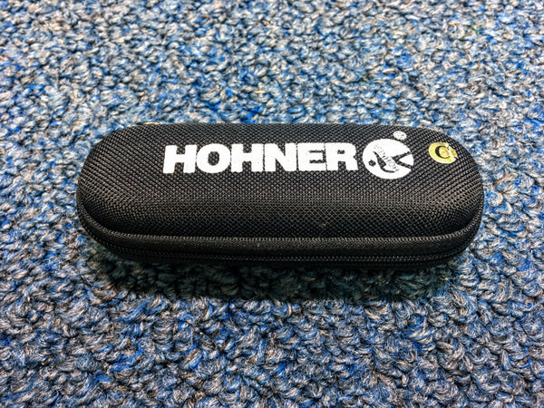 NEW Hohner The White Cobra Tagged Harmonica Key A w/Case