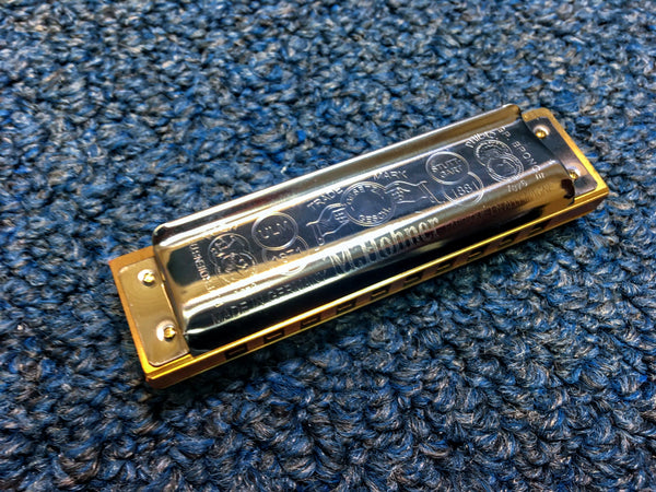 New Hohner Marine Band 1896 Harmonica w/Case and Online Lessons