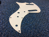 White Lefty 2 Single Coil Pickguard