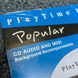PlayTime Piano Popular Level 1 Accompaniment CD