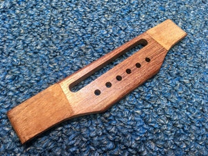 Rosewood Acoustic Guitar Bridge, Adjustable