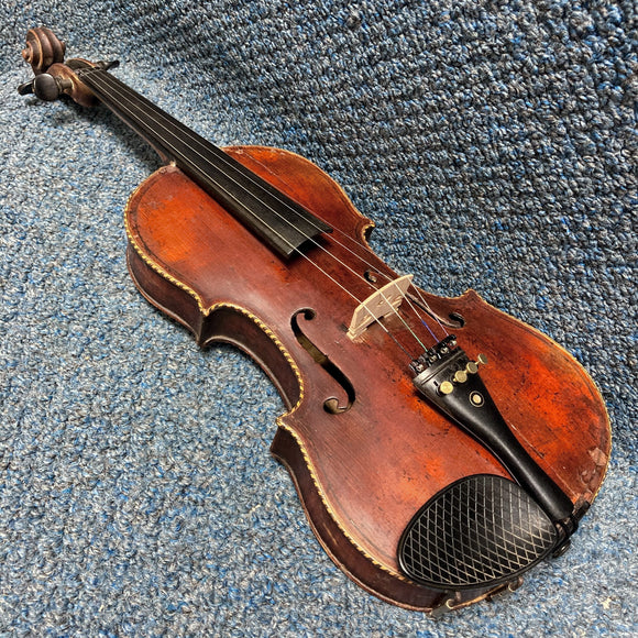 Vintage Nestor Dominique Audinot Violin w/ Case