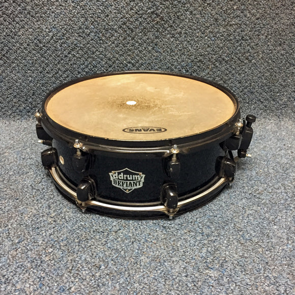 Ddrum Defiant Snare Black Sparkle 14