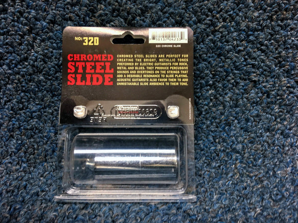 New Dunlop Chrome Slide 12.5 Ring Size, #320