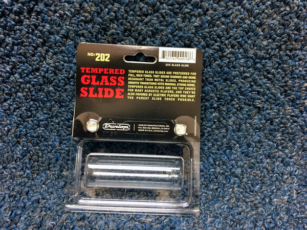 New Dunlop Glass Slide 8 Ring Size, #202