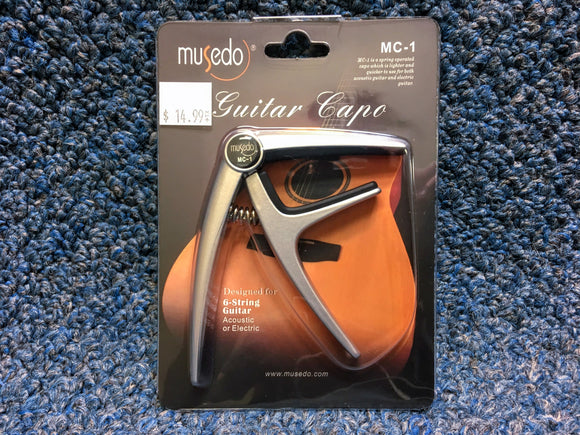 NEW Musedo MC-1 Acoustic or Electric Guitar Capo
