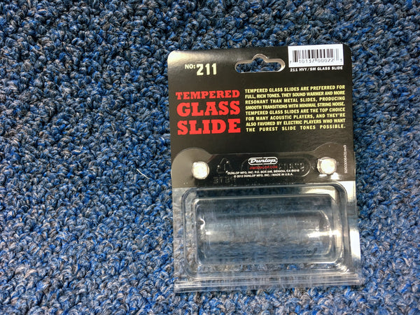 NEW Dunlop Tempered Glass Slide 7 Ring Size, #211
