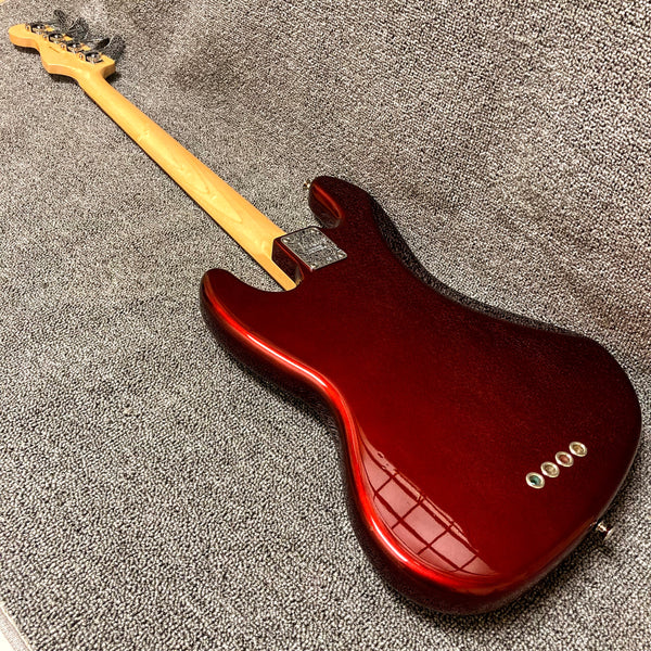Fender Red Squier Stratocaster Solid Body Electric Guitar, Made in USA