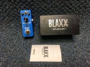 New BLAXX Overdrive Plus Guitar Effects Pedal