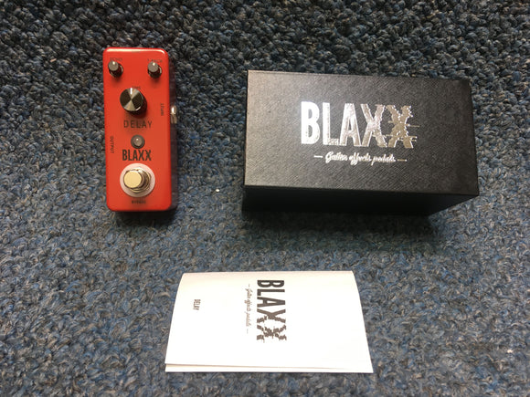 New BLAXX Delay Guitar Effects Pedal