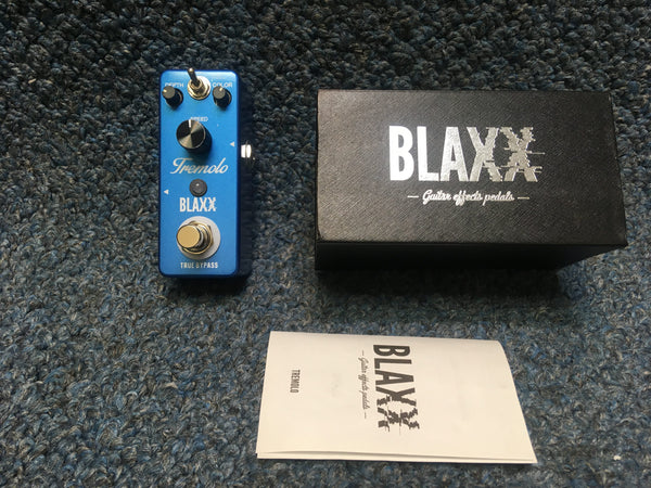 New BLAXX Tremolo Guitar Effects Pedal