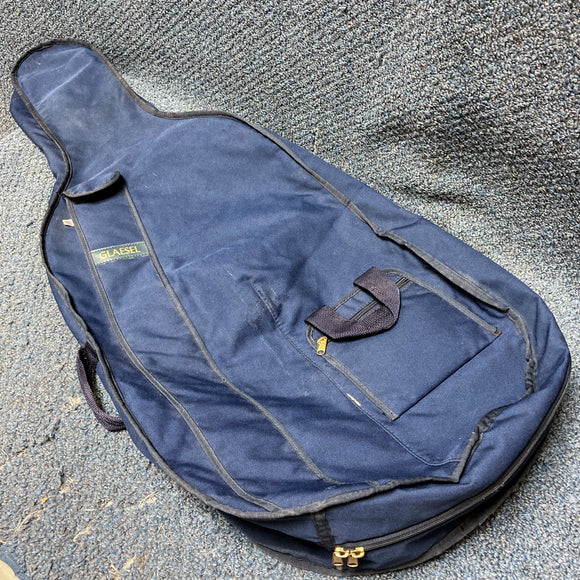 Glaesel 4/4 Size Blue Cello Bag