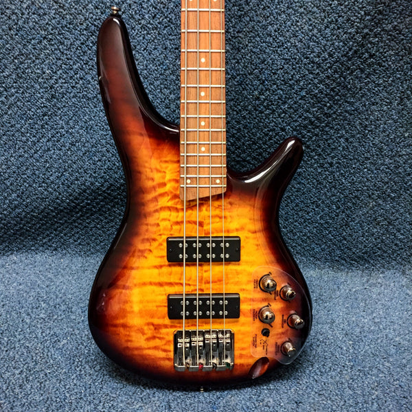 NEW Ibanez SR400EQM-DEB Electric Bass Guitar
