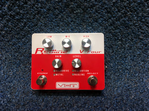 New VHT Redline V-Four Overdrive and Distortion Pedal