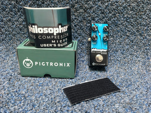 NEW Pigtronix Philosopher Pedal Bass Compressor