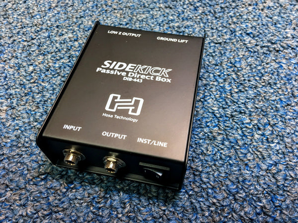 New Hosa Technology Sidekick Passive Direct Box