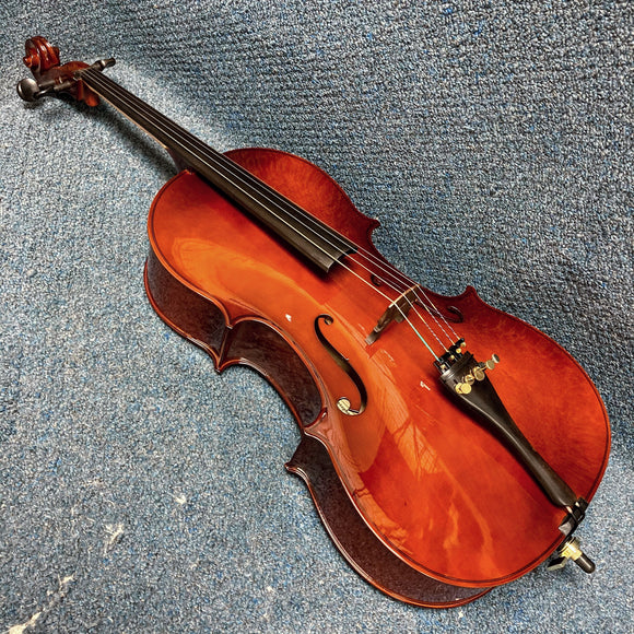 Christopher VC101H 1/2 Size Cello w/ Bag & Bow