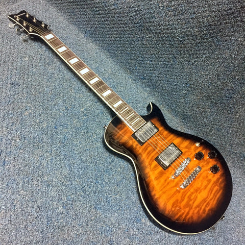 NEW Ibanez ART120QA Quilt Maple Sunburst