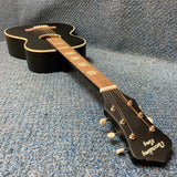 NEW Recording King Dirty 30s RPS7MBK Acoustic Parlor Guitar Matte Black