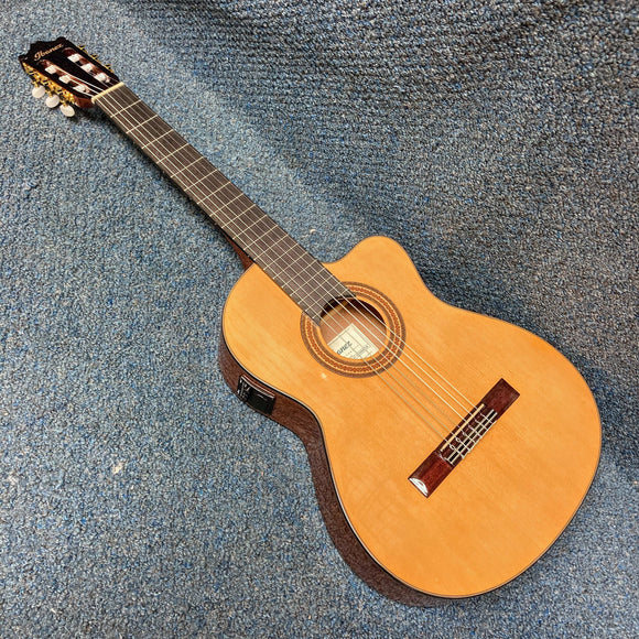 NEW Ibanez GA6CE Acoustic/Electric Classical Guitar Amber