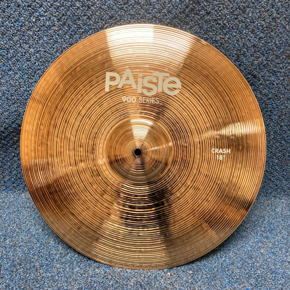 NEW Paiste 900 Series Crash Cymbal 18