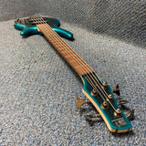 NEW Ibanez SR305E 5-String Electric Bass Cerulean Burst