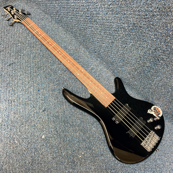 NEW Ibanez GSR205 - 5 String Electric Bass - Black Gloss