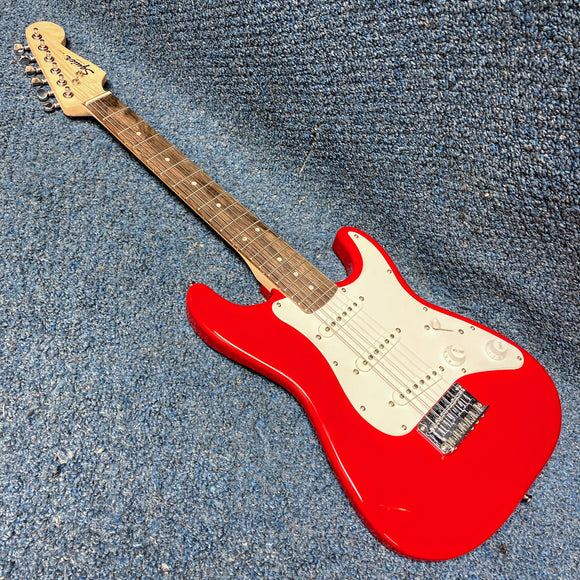 NEW Fender Squier Mini Stratocaster Electric Guitar - 3/4 Size Torino Red