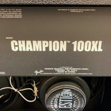 NEW Fender Champion 100XL Modeling Combo Amp w/ Footswitch