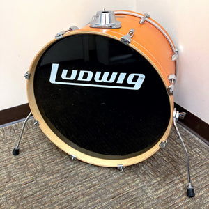 "Ludwig Accent Custom 22""x16"" Bass Drum - Matte Orange"