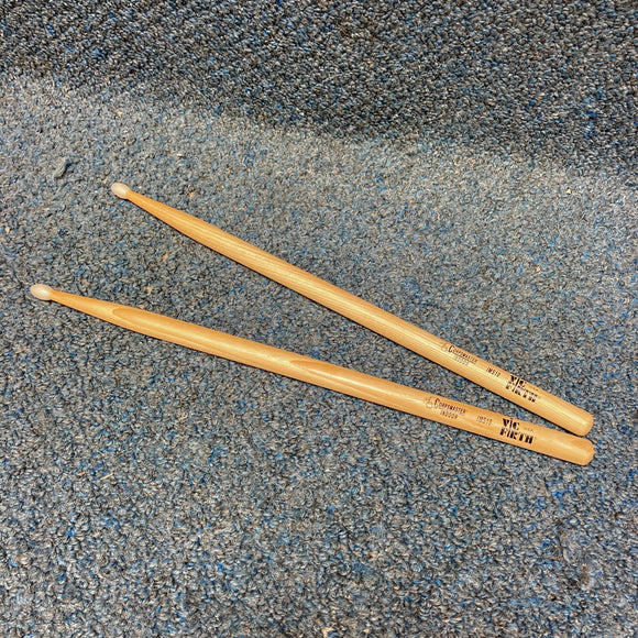 NOS Vic Firth Corpsmaster Indoor IMS10 Drumstick Pair - Nylon Tip