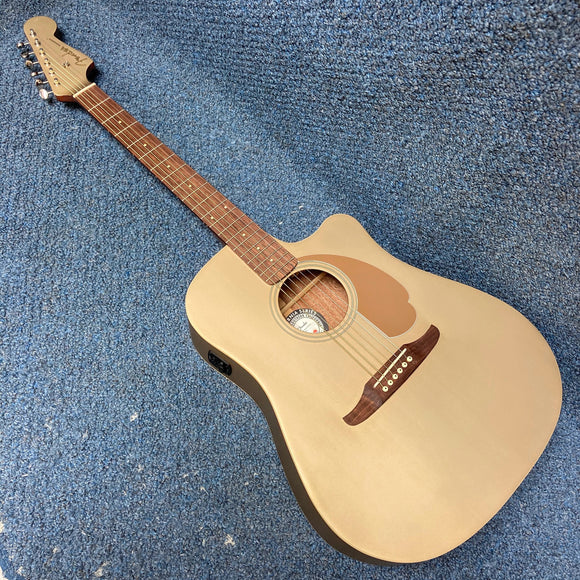 Fender Redondo Player Acoustic Guitar Bronze Satin