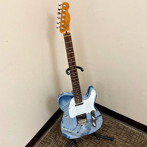 Telecaster Style Electric Guitar Blue Jeans