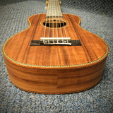 Panda 6 String Mahogany Ukulele with Cover Tenor Size