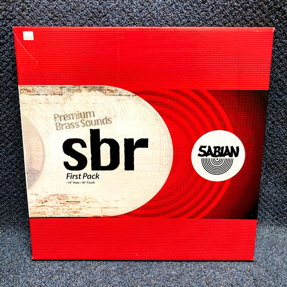 NEW Sabian SBR First Pack Cymbals - 13