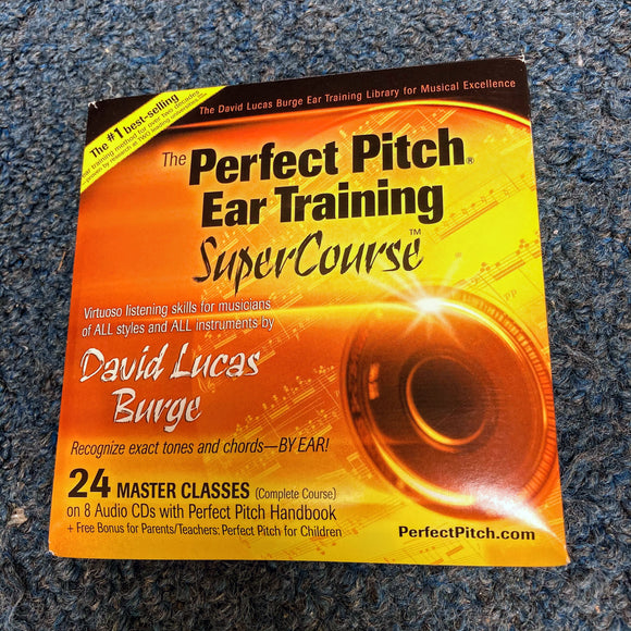 The Perfect Pitch Ear Training SuperCourse by David Lucas Burge