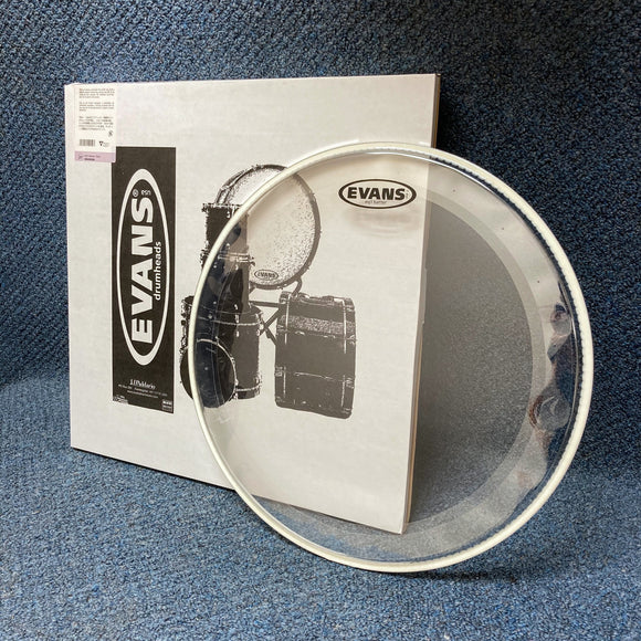 NOS Evans EQ1 Clear Bass Drum Batter Head 20