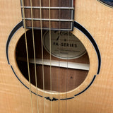 NEW Fender FA345CE Auditorium Acoustic Electric Guitar Flame Maple