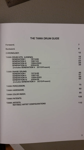 The Tama Drum Guide 2010 Edition Telleria, Robert