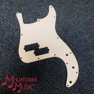 Mighty Mite 3 ply WBW P Bass Pickguard