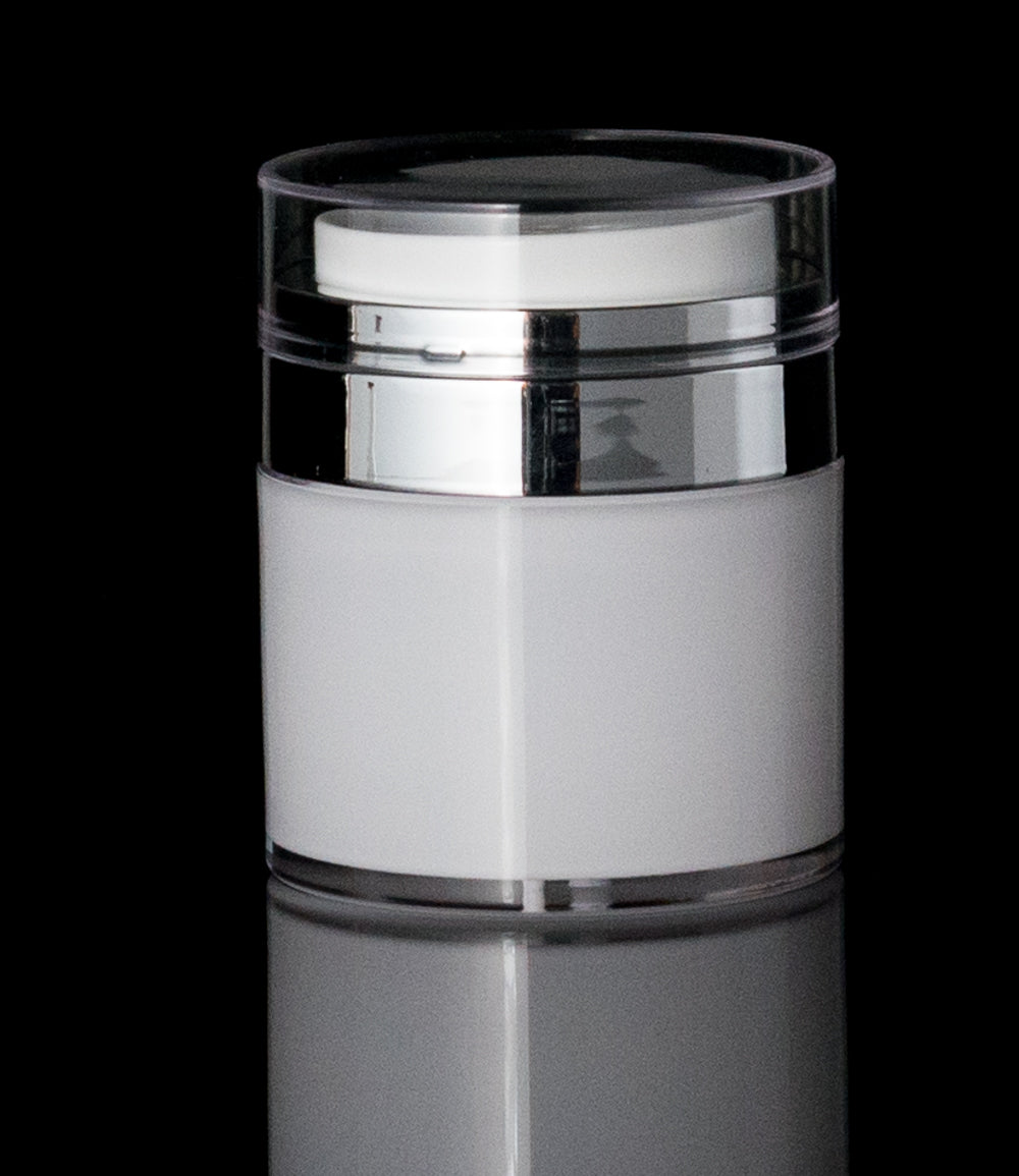 Echo 50 ML Airless Jar - Cosmetic Packaging Now