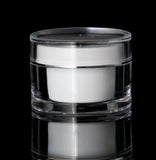 Orbit 50 ML Acrylic Double Wall Jar - Cosmetic Packaging Now