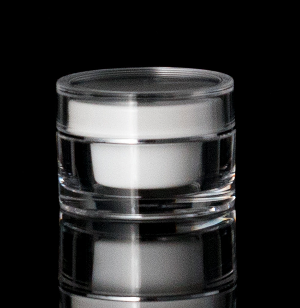 Orbit 30 ML Acrylic Double Wall Jar - Cosmetic Packaging Now