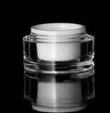 Orbit 15 ML Acrylic Double Wall Jar - Cosmetic Packaging Now