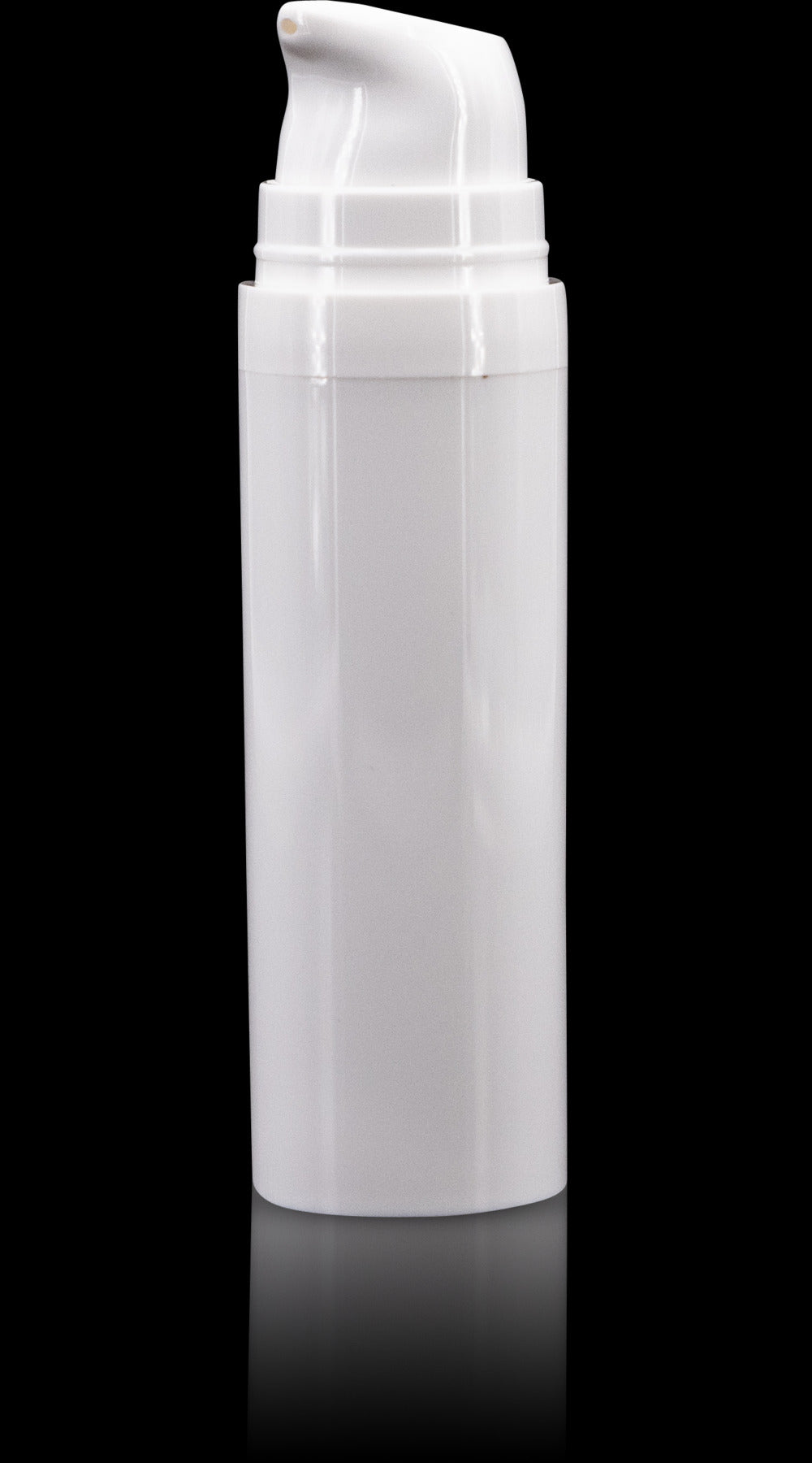 Pure 30 ML White PP Airless Bottle with Frosted Cap